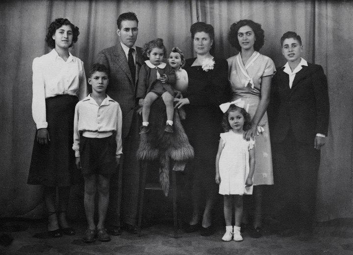 family portrait for ange